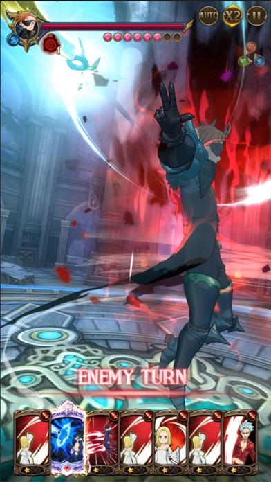 七つの大罪 光と闇の交戦 : グラクロのスクリーンショット_1