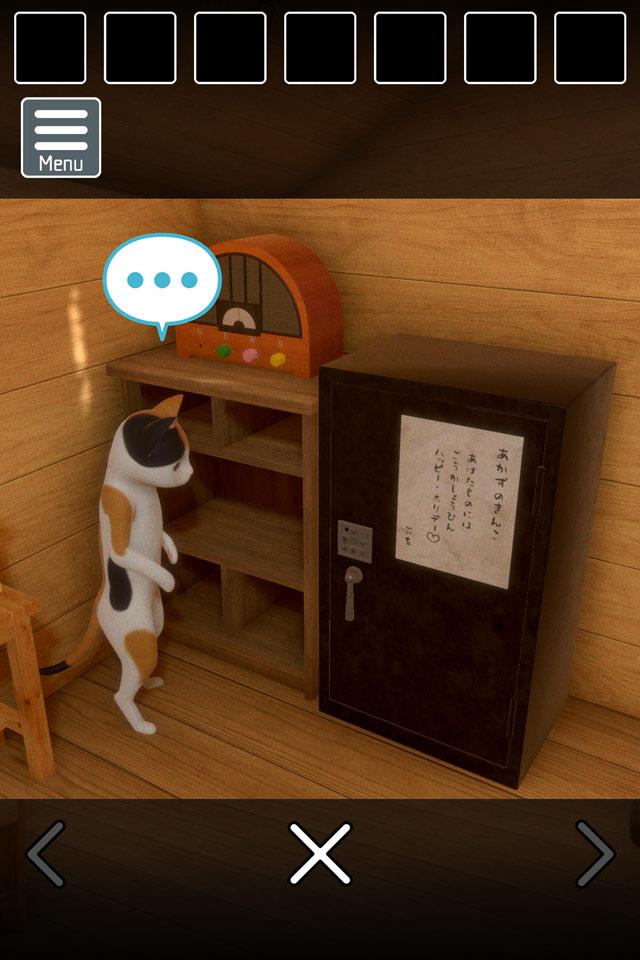 脱出ゲーム 猫様の山小屋からの脱出のスクリーンショット_5