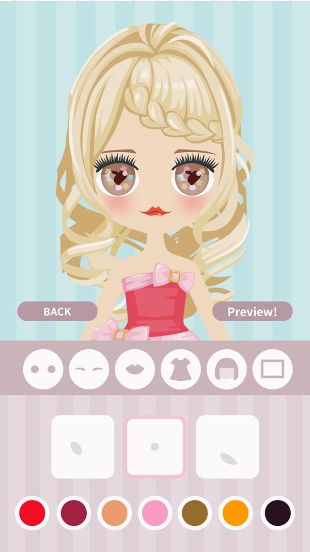 Cute Eyes Maker  - メイクアップゲームのスクリーンショット_3
