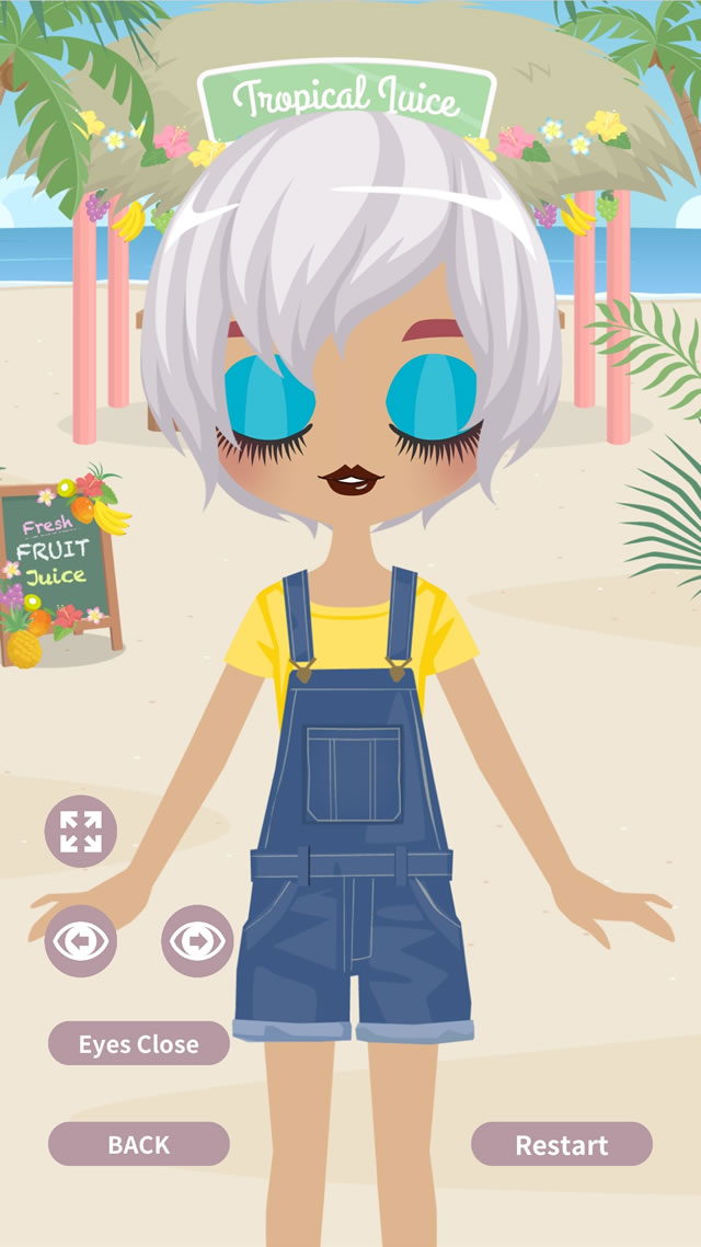 Cute Eyes Maker  - メイクアップゲームのスクリーンショット_4