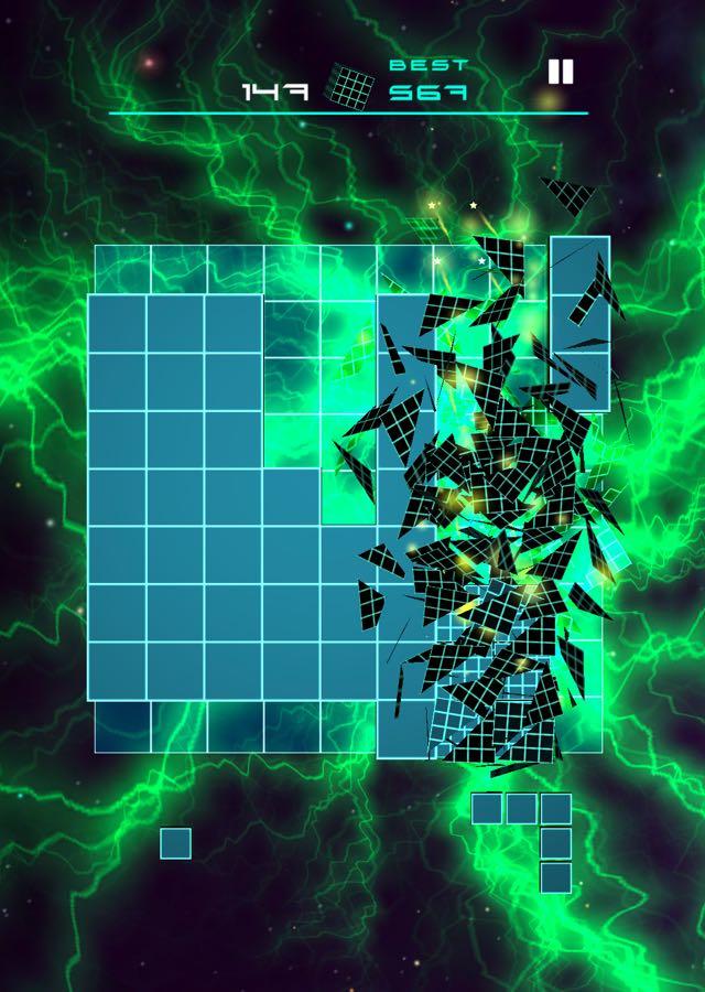 BLOCK PUZZLE FLOWのスクリーンショット_1