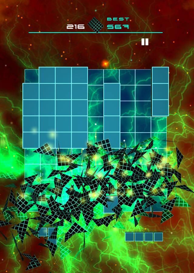 BLOCK PUZZLE FLOWのスクリーンショット_2