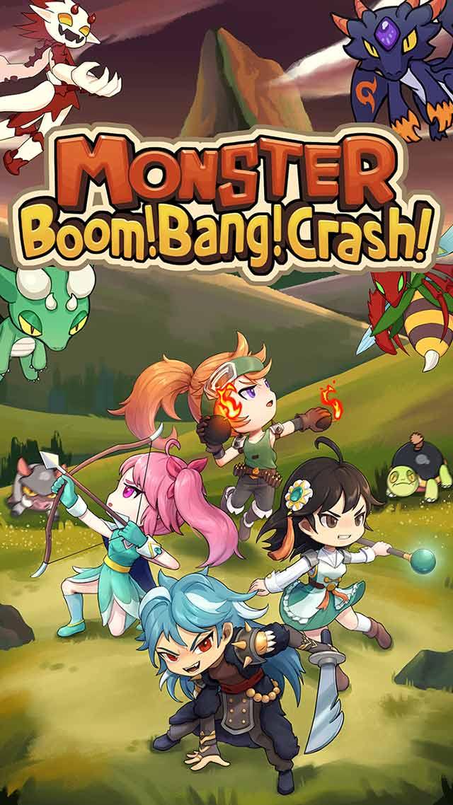 Monster Boom! Bang! Crash!のスクリーンショット_1