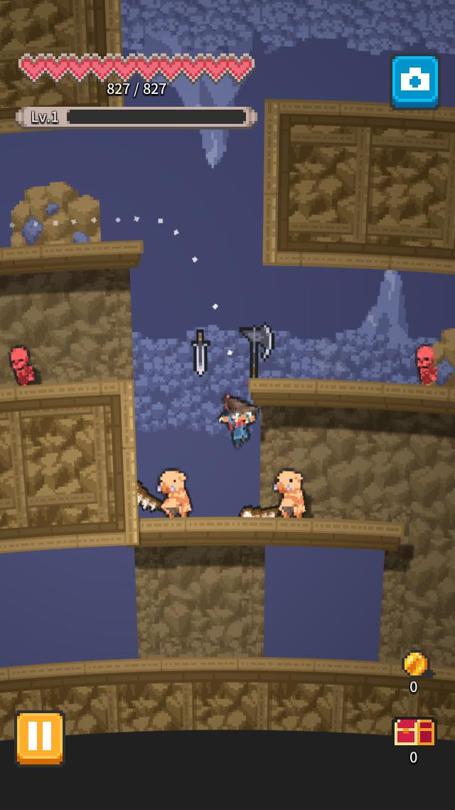 RogueRun~無間ノ塔[Abyss Tower]のスクリーンショット_1