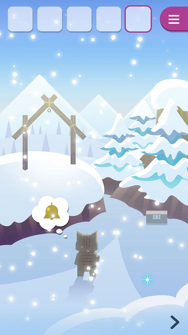 脱出ゲーム どうぶつと雪の島のスクリーンショット_2