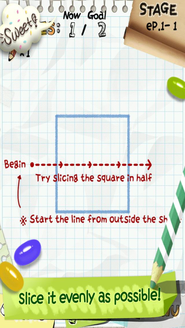 Slice It! 無料版のスクリーンショット_1