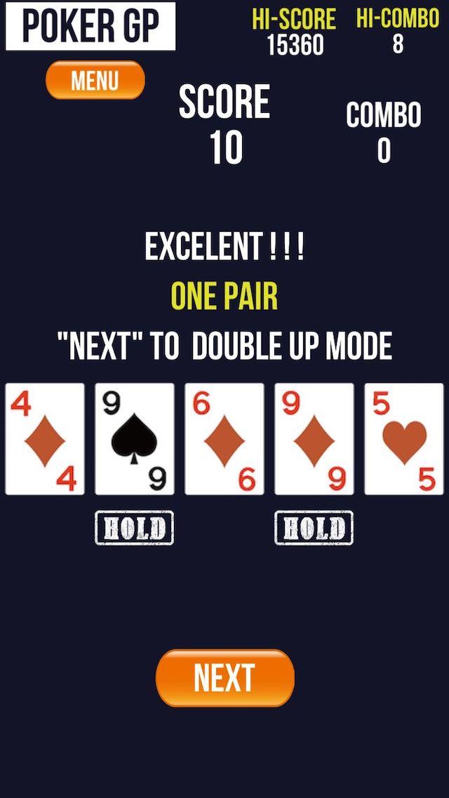 ポーカーGP -Double Up Fever- Pokerのスクリーンショット_2