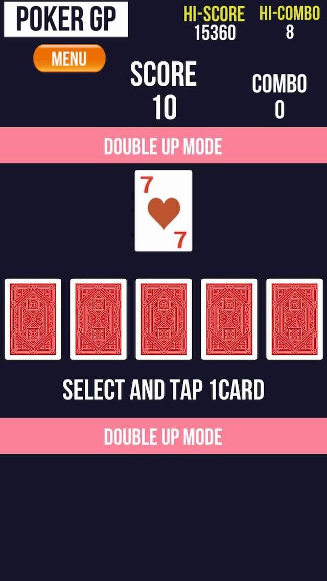 ポーカーGP -Double Up Fever- Pokerのスクリーンショット_3