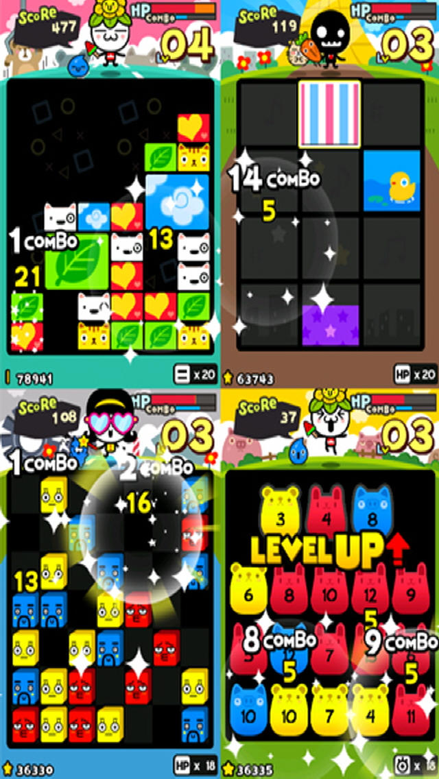 ドタバタファミリーPLUS(Puzzle Family PLUS)のスクリーンショット_1