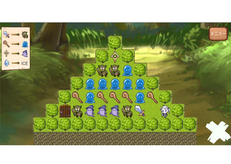 わちゃわちゃパズル ~ネイトと呪われし祝福の森~のスクリーンショット_1