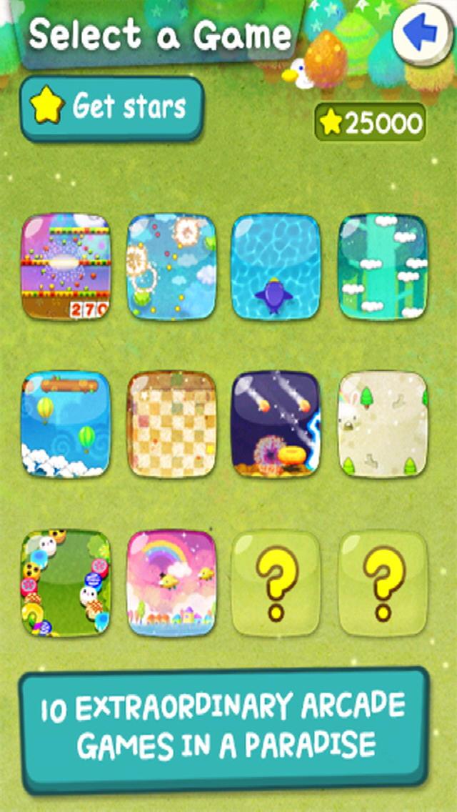 MiniGame Paradise Freeのスクリーンショット_2