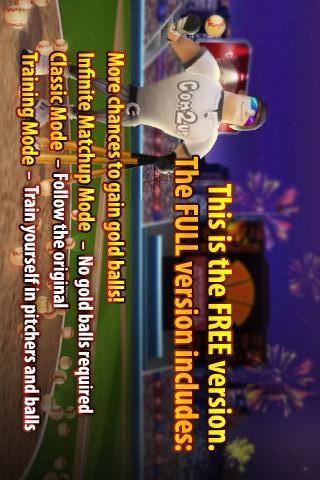 Homerun Battle 3D FREEのスクリーンショット_3