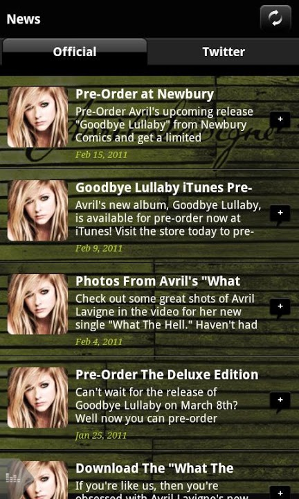 Avril Lavigneのスクリーンショット_3
