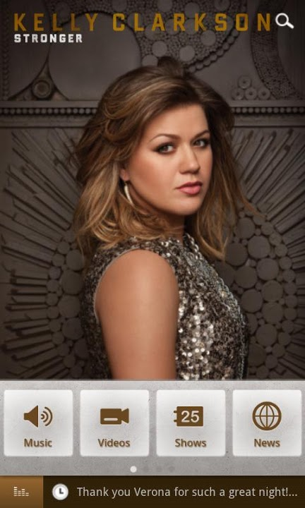 Kelly Clarkson Officialのスクリーンショット_1
