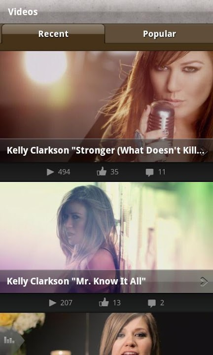 Kelly Clarkson Officialのスクリーンショット_3