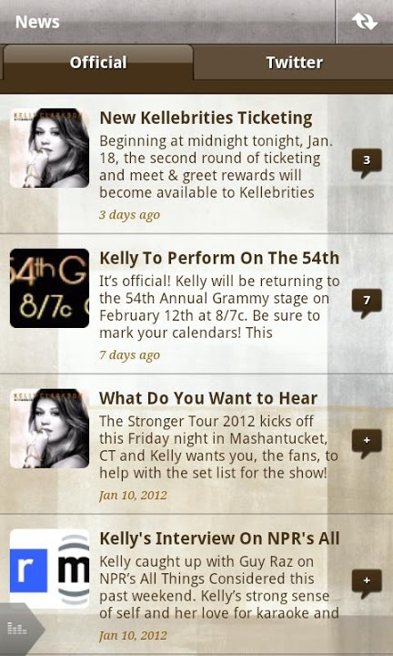 Kelly Clarkson Officialのスクリーンショット_5