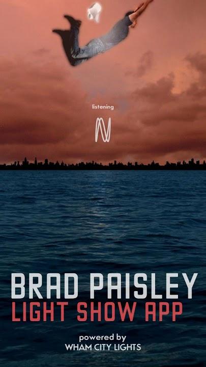 Brad Paisley Light Showのスクリーンショット_1