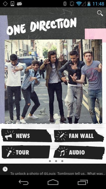 One Directionのスクリーンショット_1