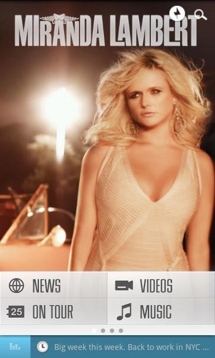 Miranda Lambert Official Appのスクリーンショット_1