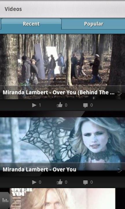 Miranda Lambert Official Appのスクリーンショット_4