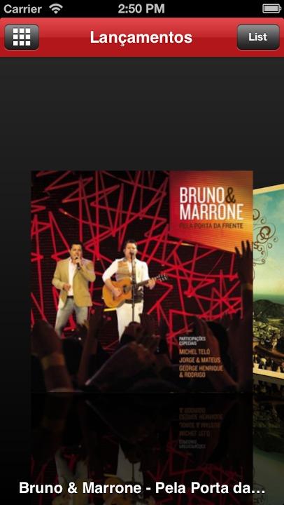 Sony Music Brasilのスクリーンショット_2