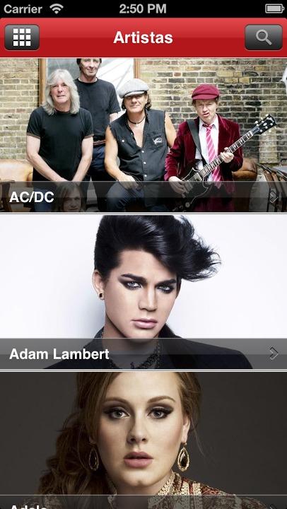 Sony Music Brasilのスクリーンショット_3