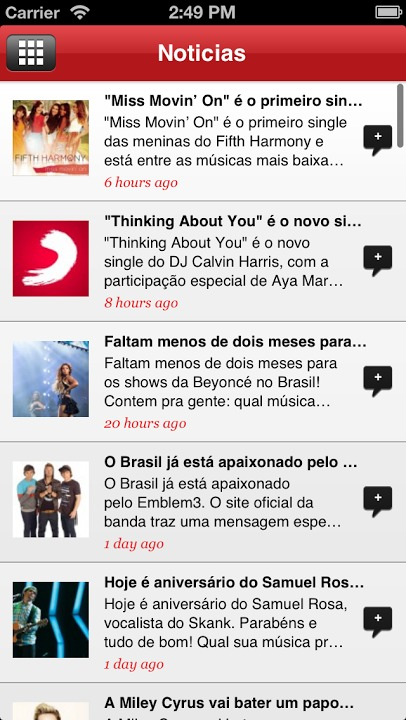 Sony Music Brasilのスクリーンショット_5
