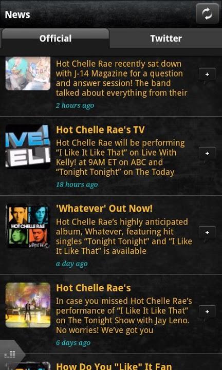 Hot Chelle Raeのスクリーンショット_4