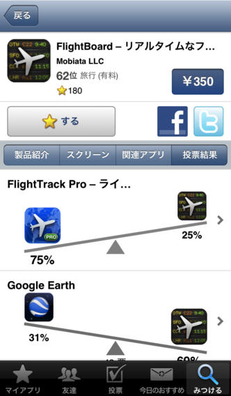おすすめアプリ AppGrooves - 人気・流行アプリ(無料・値引き・セール・レビュー・ランキング)のスクリーンショット_2