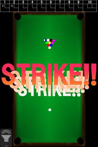 Bowlards Game -ビリヤード競技種目ボウラードのゲームです!-のスクリーンショット_3
