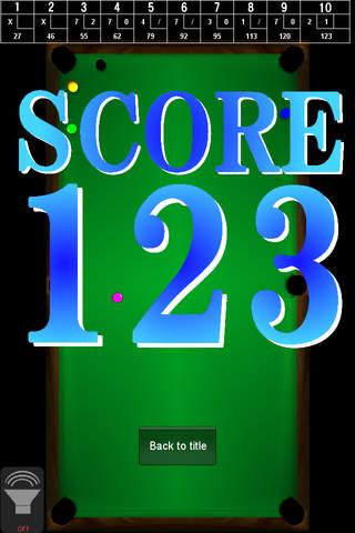Bowlards Game -ビリヤード競技種目ボウラードのゲームです!-のスクリーンショット_5