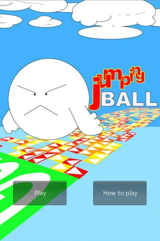 ジャンピングボールのスクリーンショット_5