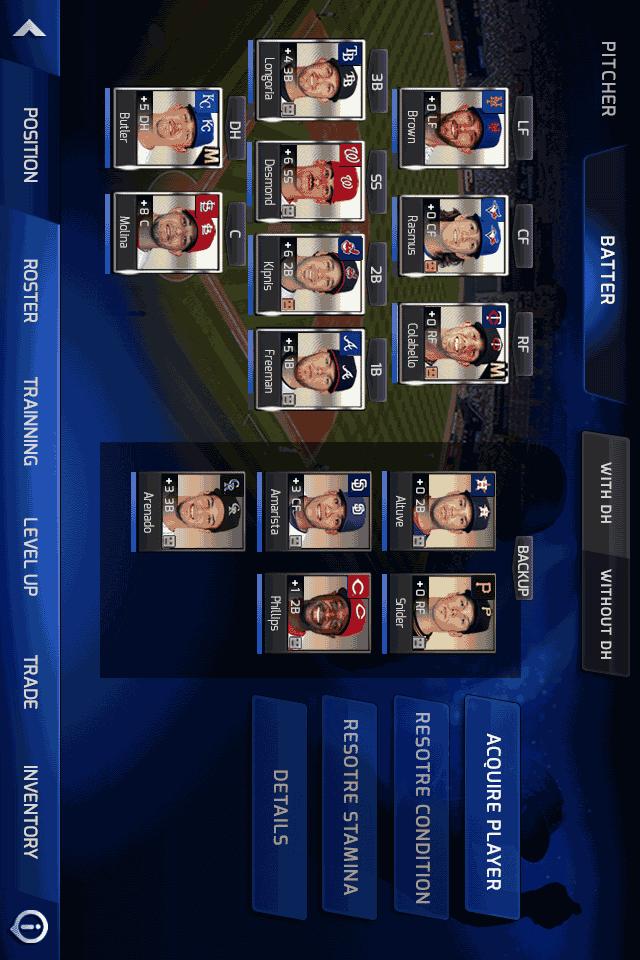 MLB PERFECT INNINGのスクリーンショット_4