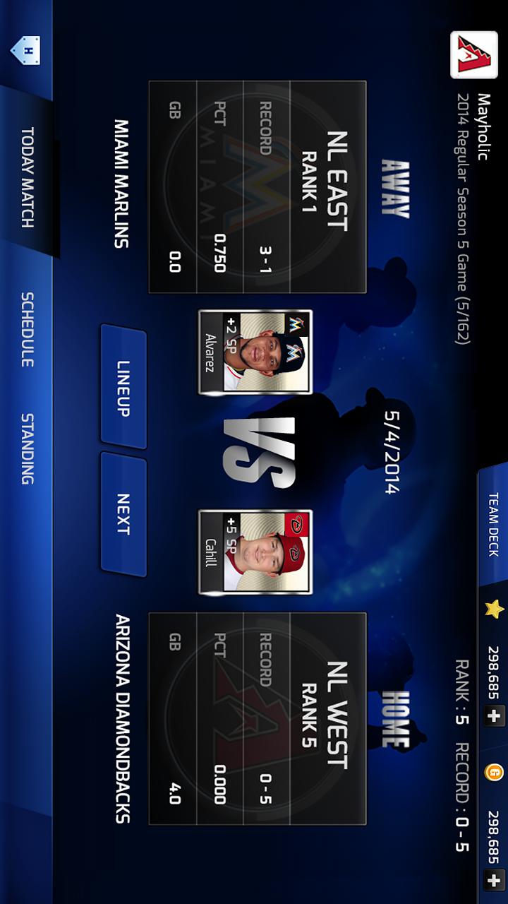 MLB PERFECT INNINGのスクリーンショット_5