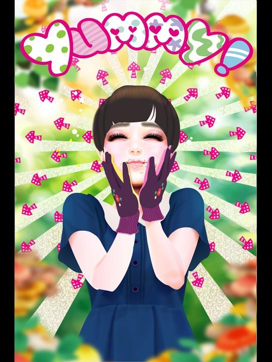 きのこガーリー かわいいおしゃれな乙女向けゲームで運試し!のスクリーンショット_2