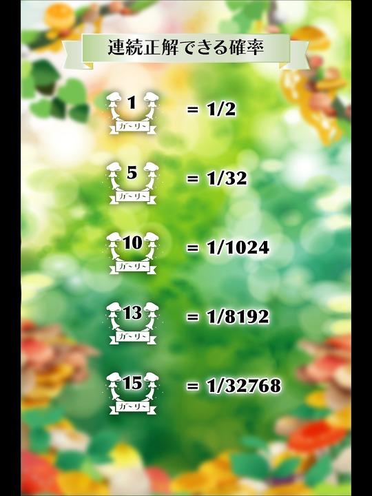 きのこガーリー かわいいおしゃれな乙女向けゲームで運試し!のスクリーンショット_4