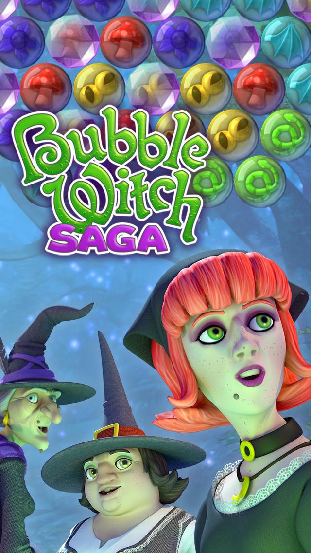 Bubble Witch Sagaのスクリーンショット_5