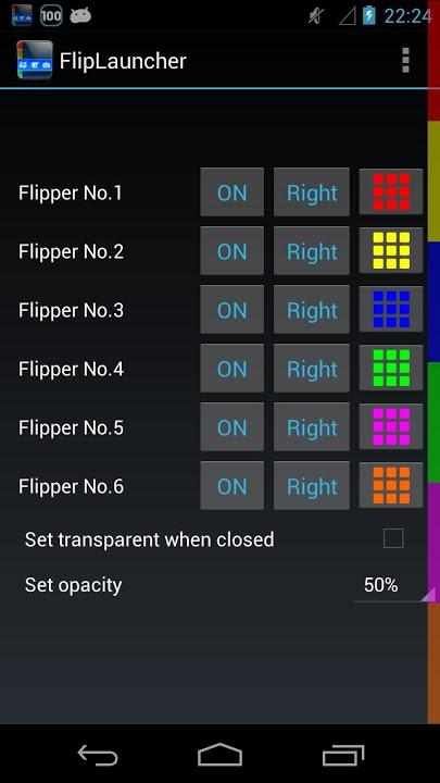 FlipLauncherのスクリーンショット_5