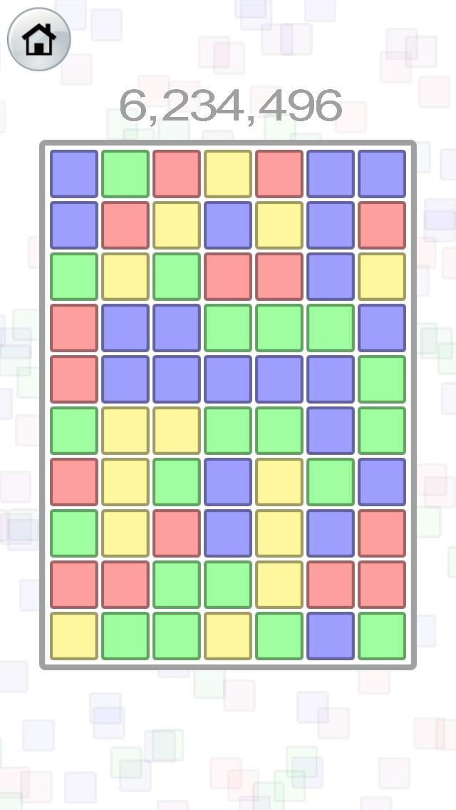 Harmony Blocks ◆癒し系パズルゲーム・ハーモニーブロックス 通勤や通学、暇つぶし(ひまつぶし)の時間で、手軽にリラックス!のスクリーンショット_1
