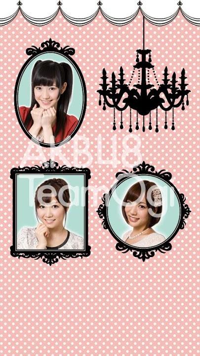 AKB48 TeamOgi ライブ壁紙のスクリーンショット_2