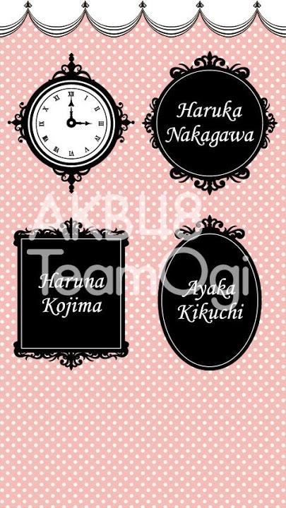 AKB48 TeamOgi ライブ壁紙のスクリーンショット_3