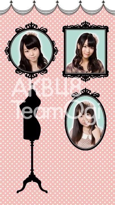 AKB48 TeamOgi ライブ壁紙のスクリーンショット_4