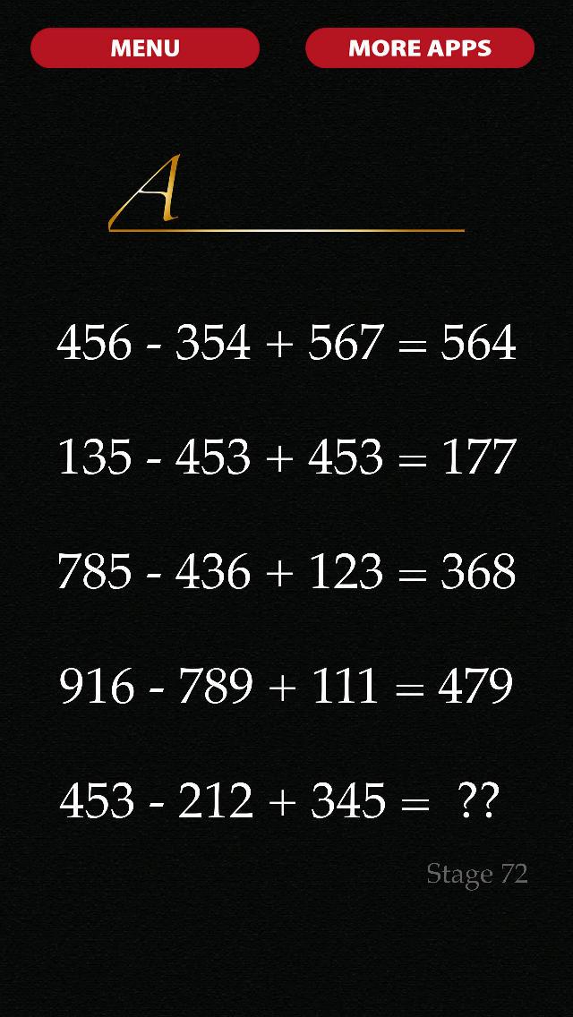 謎解き・脱出ゲーム 数字の迷宮のスクリーンショット_3