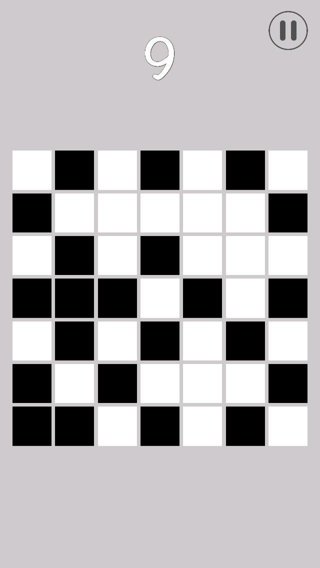 白黒 ~ パズルゲームのスクリーンショット_2