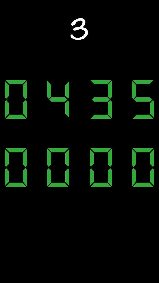 デジタル時計合わせのスクリーンショット_3