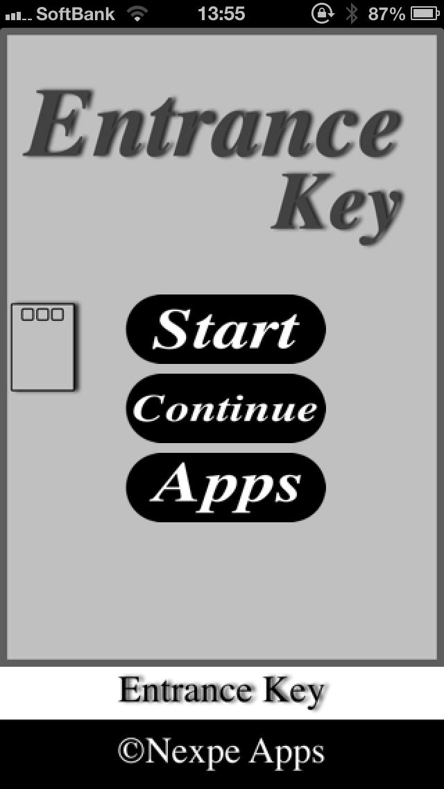 脱出ゲーム『Entrance Key』のスクリーンショット_1