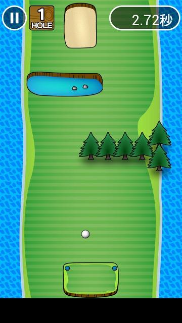 イライラゴルフのスクリーンショット_2