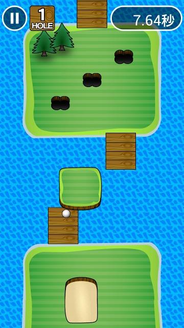 イライラゴルフのスクリーンショット_3