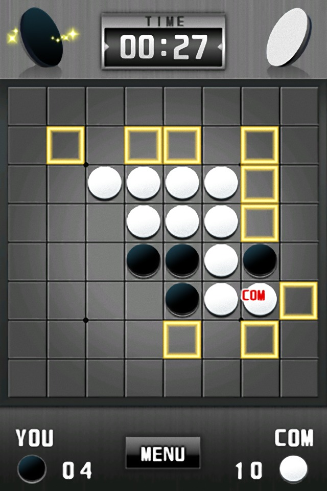 リバーシ[本格ボードゲーム]のスクリーンショット_1