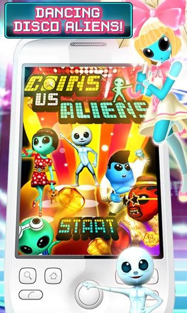 Coins Vs Aliensのスクリーンショット_1